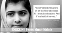 15 Shocking Facts about Malala Yousafzai