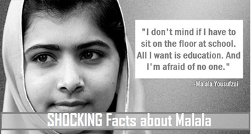 SHOCKING Facts about Malala Yousafzai