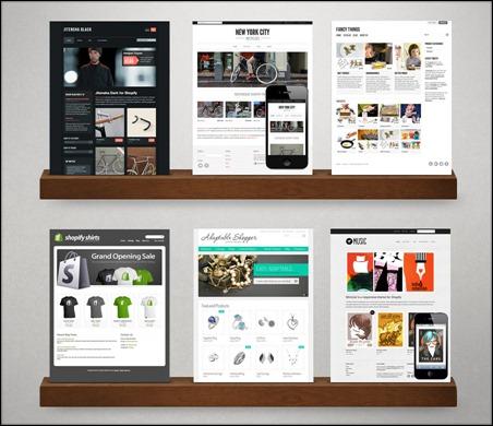 Themes at Shopify