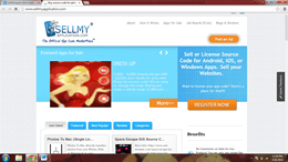 SellMyApplication.com platform to sell mobile apps on