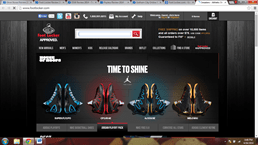 Foot Locker website to buy foot wear on