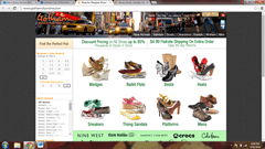 Gotham City Online website to buy foot wear