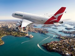 Qantas Airways most comfortable airline