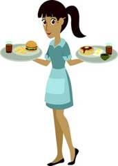 Waitress worst career for students