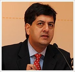 Vikram Chandra popular Indian journalist