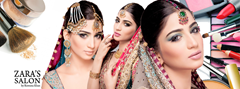 Zara's popular salon for brides in Pakistan
