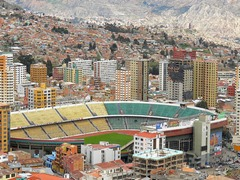Estadio Hernando (Bolivia) amazing football stadium