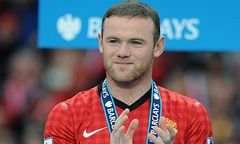 Wayne Rooney popular social media footballer