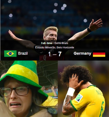 Brazil's Biggest Defeat By Germany in FIFA History