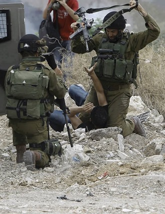 Brutally killing in palestine