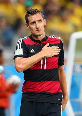 Klose Breaks all records