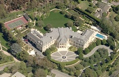 Aaron Spelling Richest Hollywood Actors with Big Houses