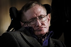 'Hawking' Gala Performance at Emmanuel College in Cambridge, Britain - 19 Sep 2013