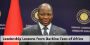 Leadership Lessons from Burkina Faso of Africa