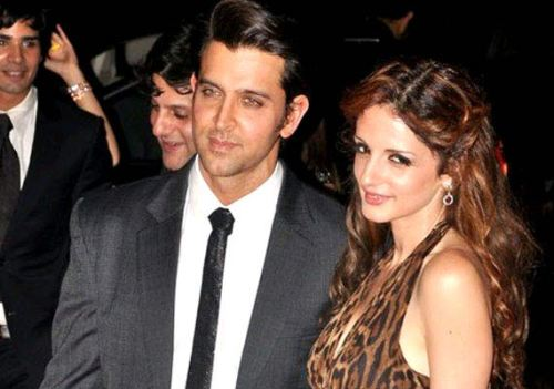3. Hrithik Roshan and Susssanne
