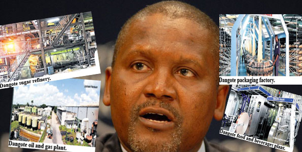 business tactics of dangote