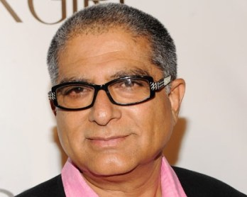 NEW YORK - SEPTEMBER 30: Author/inspirational speaker Deepak Chopra attends the 2010 Keep A Child Alive's Black Ball at the Hammerstein Ballroom on September 30, 2010 in New York City. (Photo by Stephen Lovekin/Getty Images) *** Local Caption *** Deepak Chopra