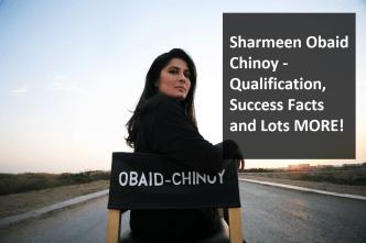 Sharmeen Obaid Chinoy - Qualification