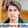 How Qualified is Ali Zafar?