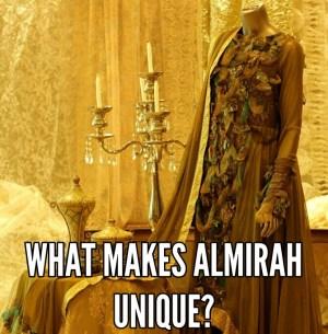What makes almirah unique