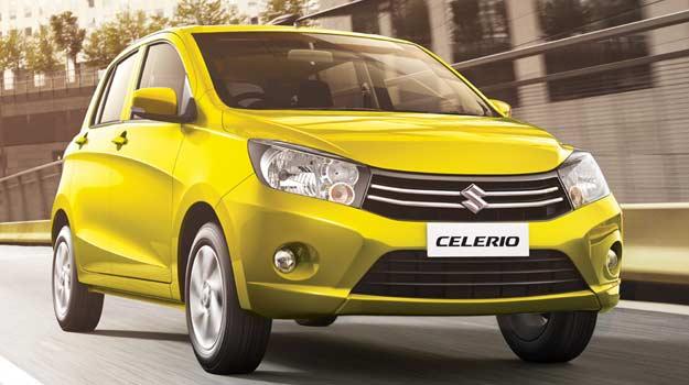 Celerio fuel saving cars in India