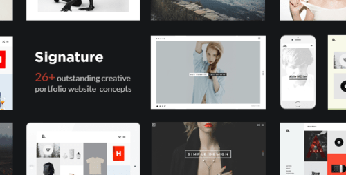 signature wordpress themes
