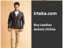 Irteka: Buy Leather Jackets Online