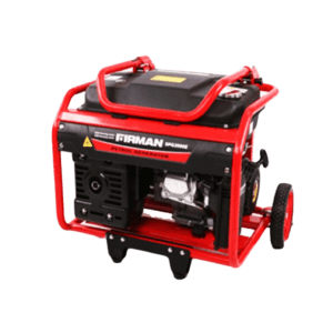 FIRMAN 6.7KVA Generator ECO8990ES With Key Starter And Battery – Red