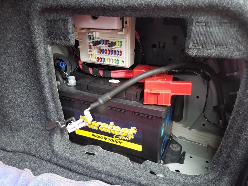Cadillac CTS Battery