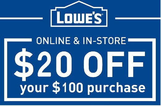 Getting Lowe's Coupons on eBay!