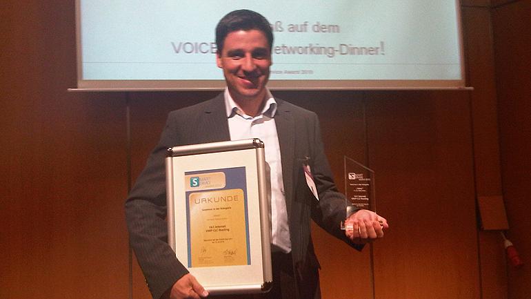 Smarter Service Award: Deutschlands smartester Kundenservice