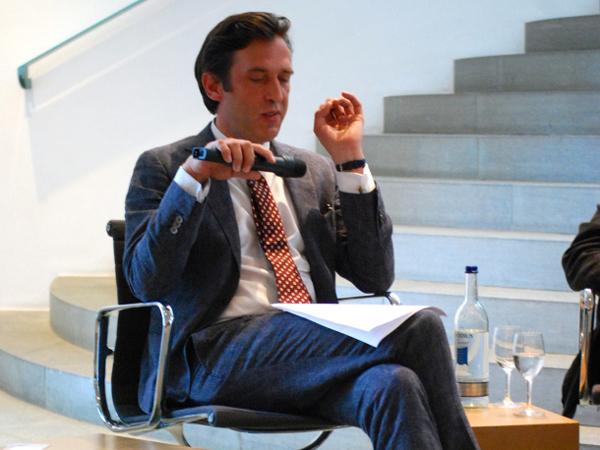 Claus Pias, Professor für Medientheorie und Mediengeschichte
