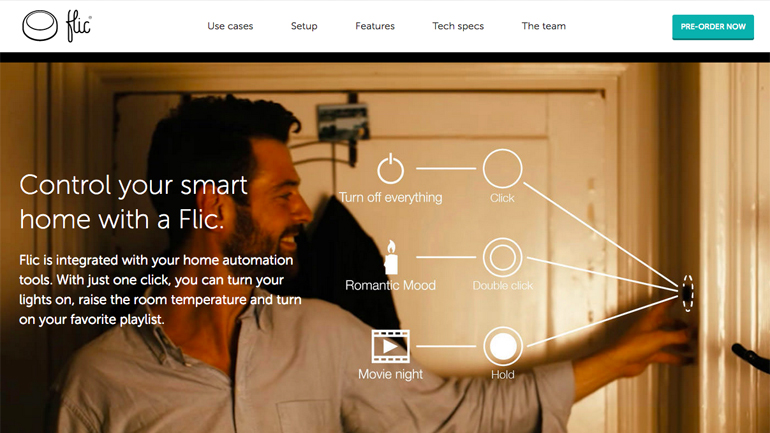 Smarter Service Gallery Flic - The wireless smart button
