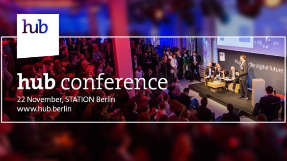 Gewinnt ein Ticket für die hub conference in Berlin