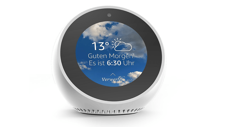 Smarter Service Gallery: Amazon Echo Spot