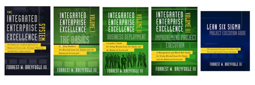 IEE books in Operational Excellence Training Courses