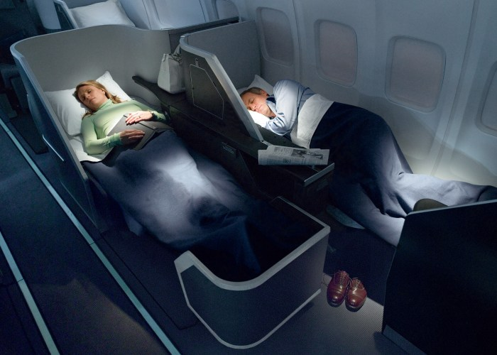Can you afford to fly business class to Europe?