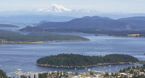 The San Juan Islands, Washington