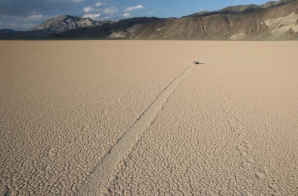 Sailing Stones, Death Valley National Park, California