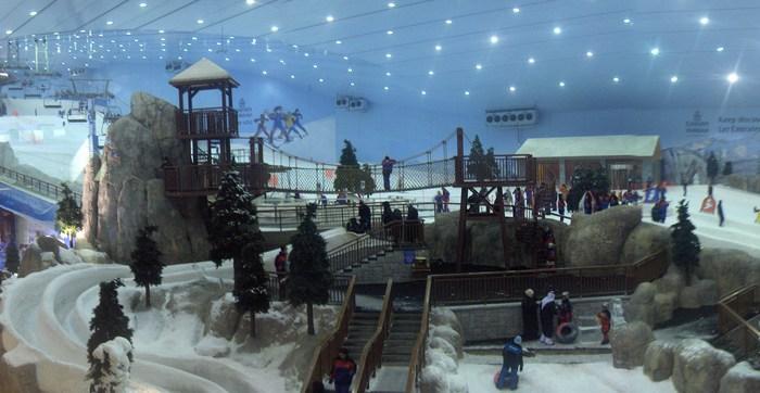 Daily Daydream: Ski Dubai Snow Park, Dubai