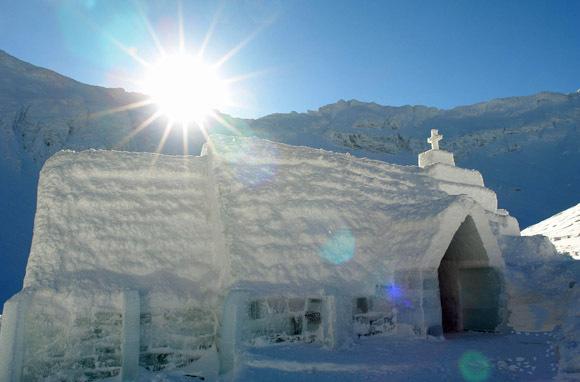 Ice Hotel, Balea Lake, Romania