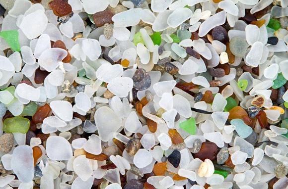 Glass Beach, Ft. Bragg, California