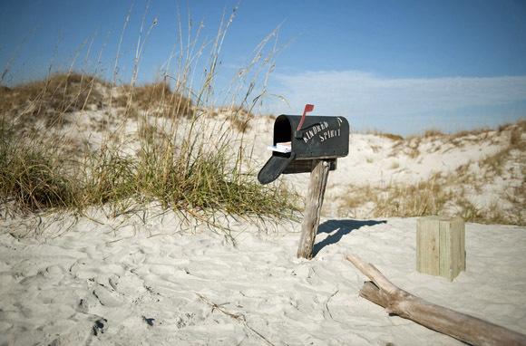 Bird Island Beach, Near Sunset Beach, North Carolina