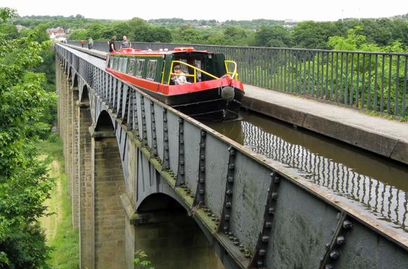 Pontcysyllte Aqueduct & Llangollen Canal, Wales