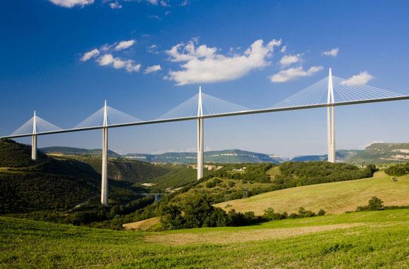 World's Tallest Bridge: Millau Viaduct, France
