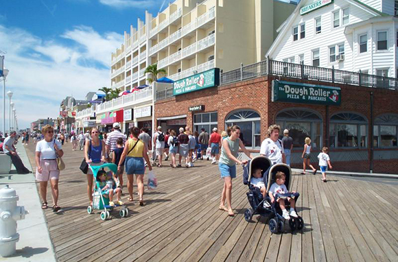 Ocean City Boardwalk, Maryland