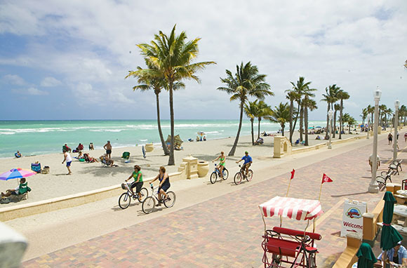 Hollywood Beach Broadwalk, Florida