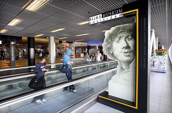 Museum, Amsterdam Schiphol Airport, Netherlands