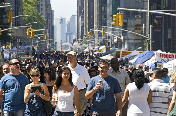 Carry Unsecured Valuables into Large Crowds