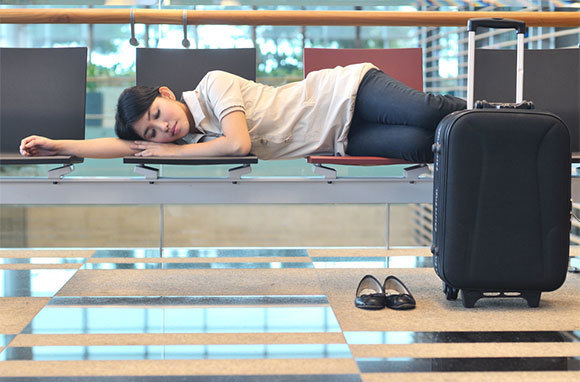 Sleep in Shifts at the Airport